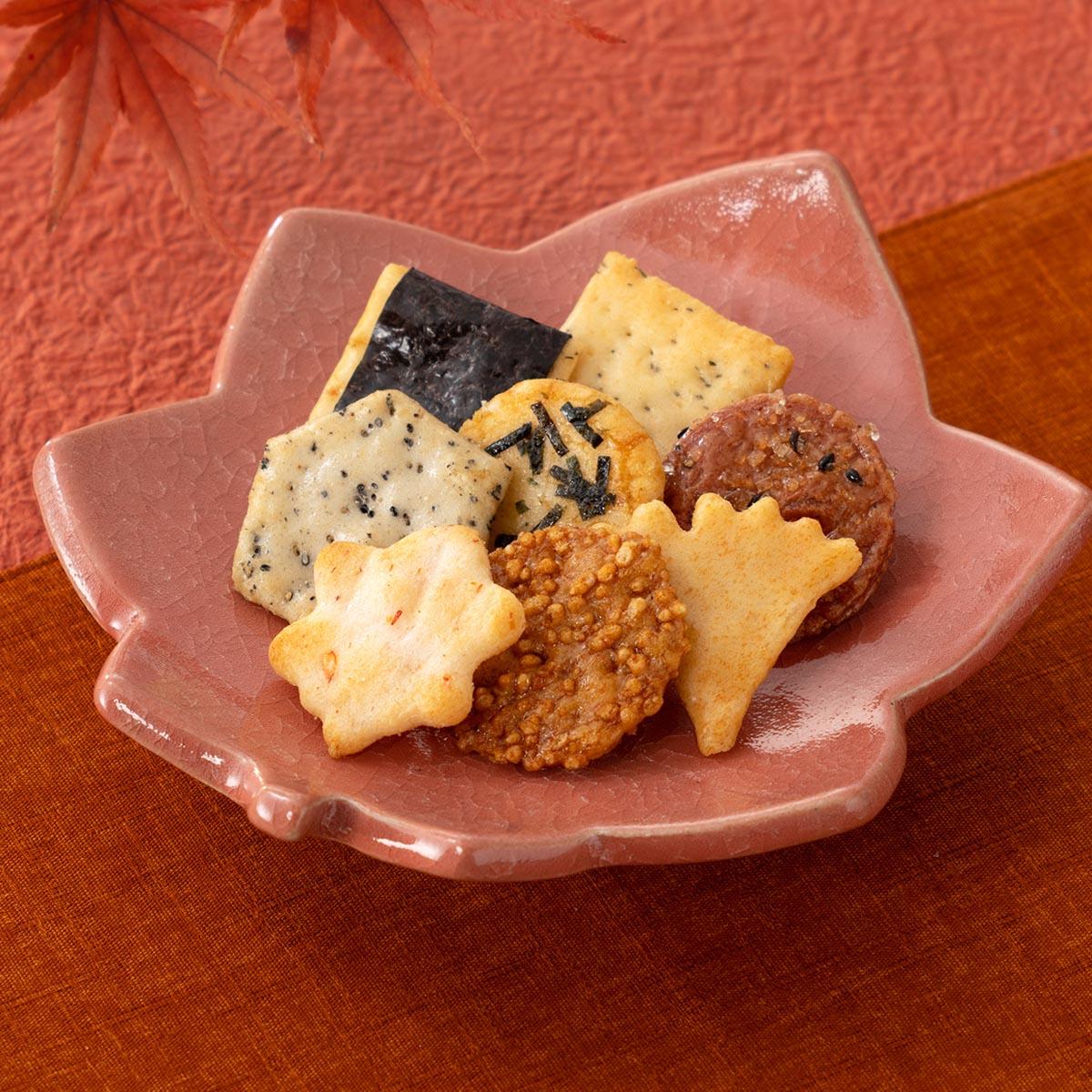 【秋季限定】蕪村あられ春秋-秋の月- せんべい、おかき、煎餅