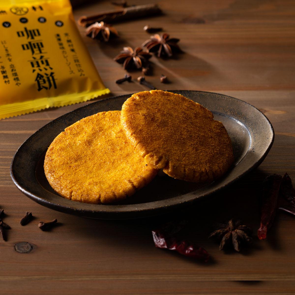 蕪村 カレー煎餅