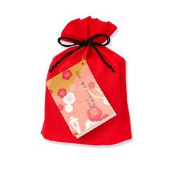 蕪村あられ春秋-京の梅 化粧袋