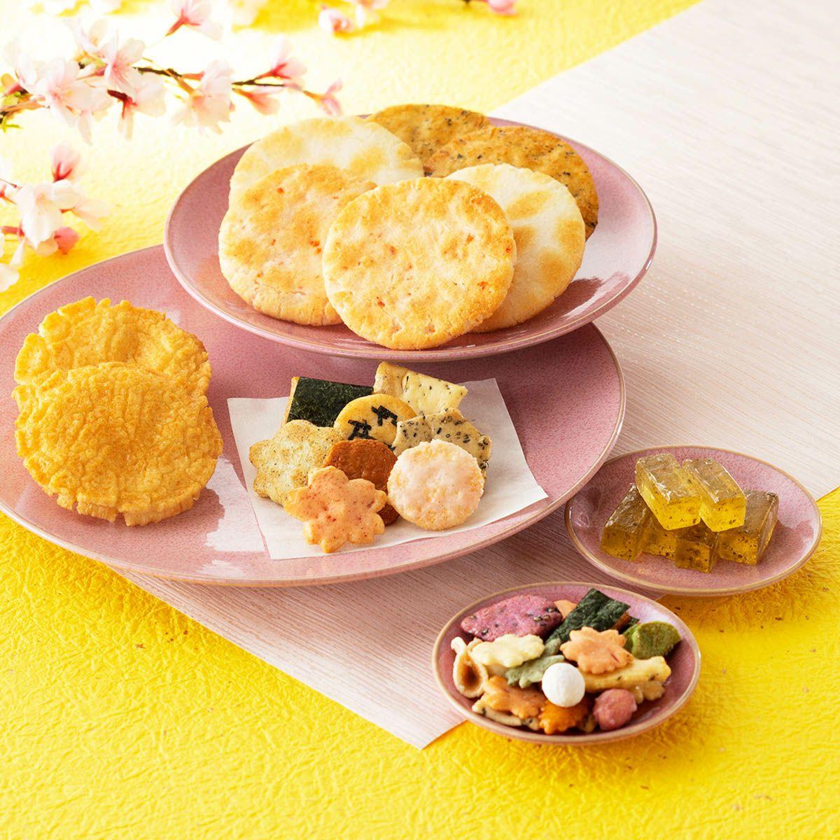 春の限定菓子7種詰め合わせ「春めぐり」 化粧箱 (23袋入)