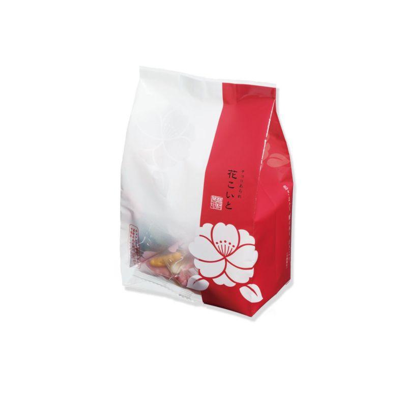 【冬季限定・チョコあられ】花こいと 小箱(11g×12袋)(抹茶ミックス6袋&フルーツミックス×6袋)