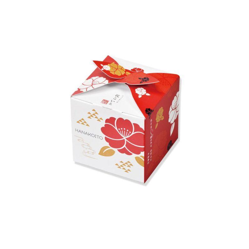 【冬季限定・チョコあられ】花こいと キューブ(11g×6袋)(抹茶ミックス3袋&フルーツミックス×3袋)