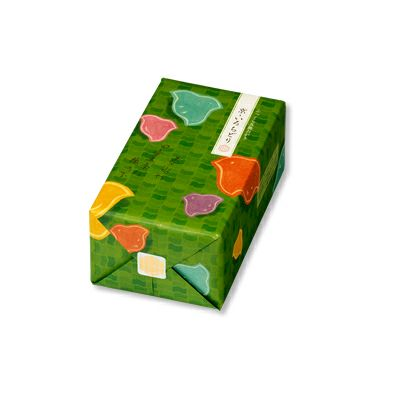 【ふっくら五趣おかき】京・いろちどり 小箱 約35袋 130g