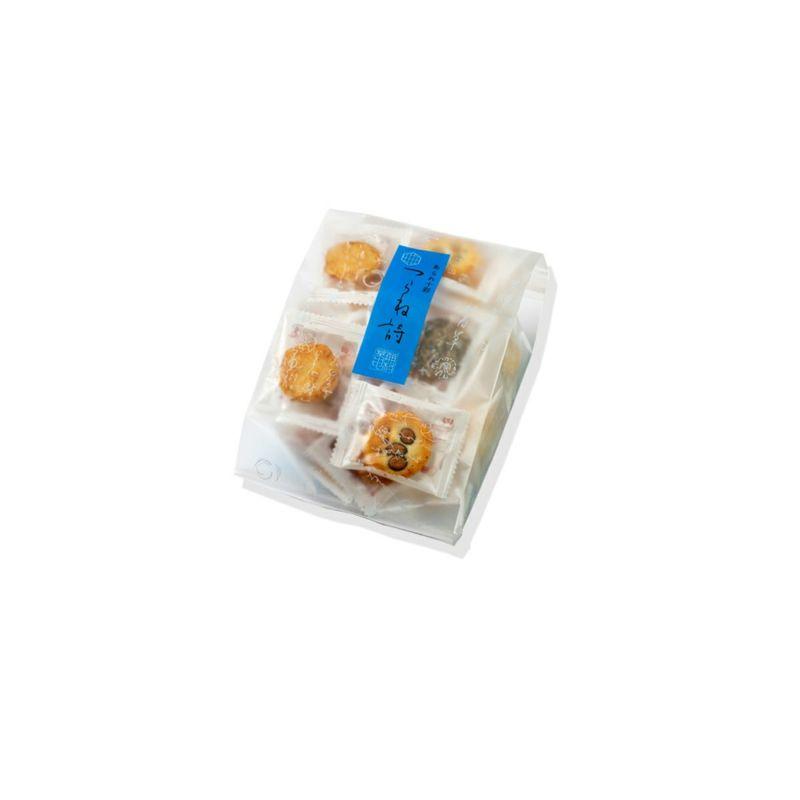 【10種味わいあられ】つらね詩 ご愛食用袋 約42袋・95g ※熨斗・包装不可
