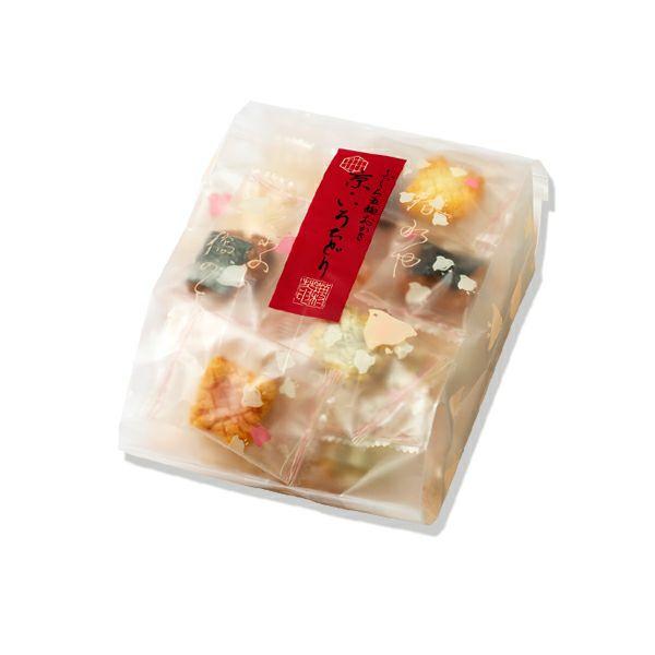 【ふっくら五趣おかき】京・いろちどり ご愛食用袋(約24袋 90g)※熨斗・包装不可