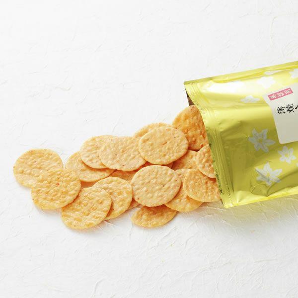 【無選別袋】香り豊かな薄焼きえび煎餅 (220g)