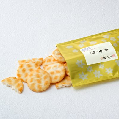 【無選別袋】サラダせんべい 塩名月 (220g)