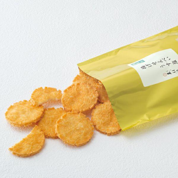 【無選別袋】京風揚げせんべい うす塩 (220g)