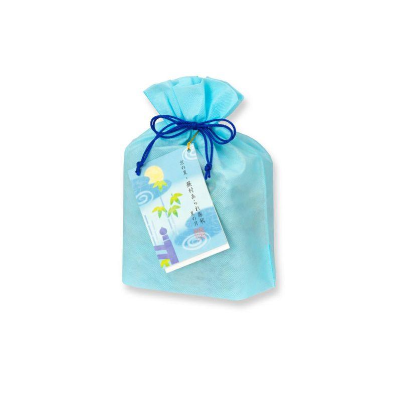 【夏季限定】蕪村あられ春秋-夏の月-化粧袋(8枚入×9袋入)※熨斗・包装不可※