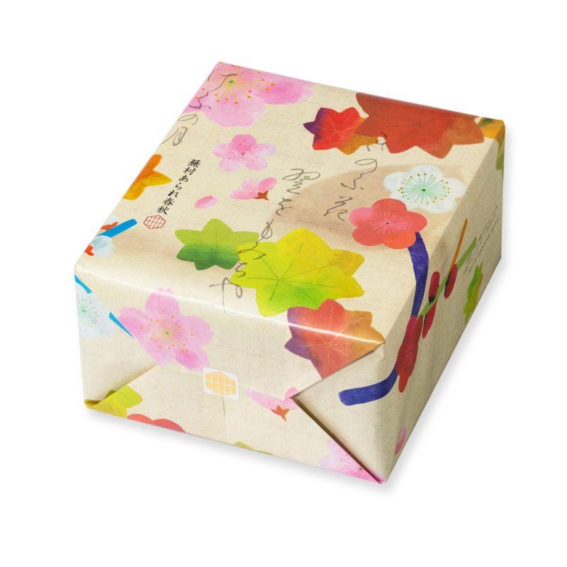【四季のあられ8撰】蕪村あられ春秋 特大缶 AS(8枚入×40袋)