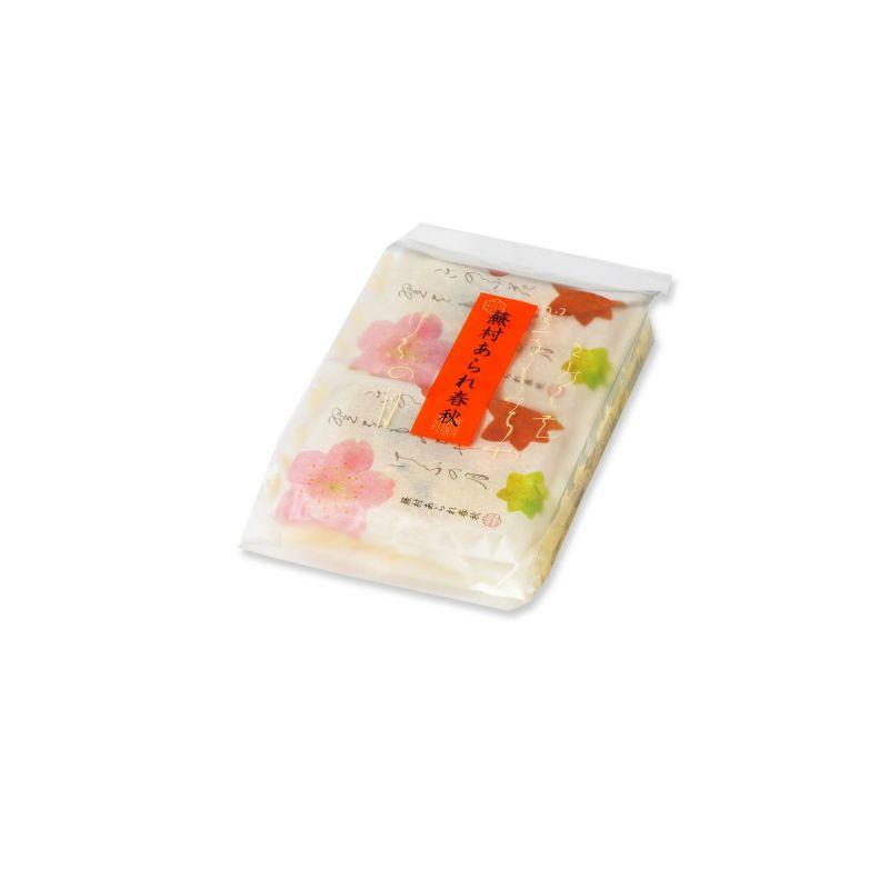 【四季のあられ8撰】蕪村あられ春秋 ご愛食ミニ AS (8枚入×4袋)※熨斗・包装不可